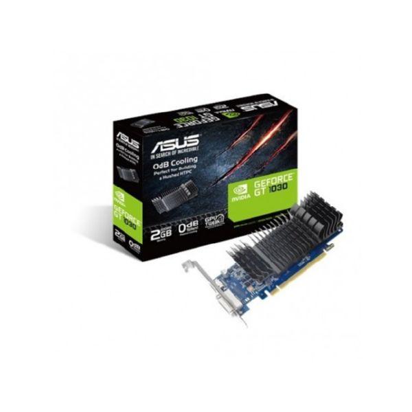 TARJETA GRAFICA ASUS GeForce GT 1030 2GB GDDR5 LOW PROFILE PCIE3 1228MHz HDMI DVI